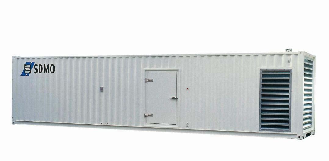 Stromerzeuger im Container - 700 -2500 kVA