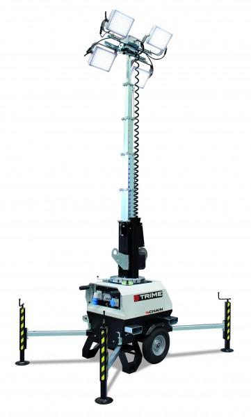 X-Chain 4 x 150 W LED Beleuchtungsfläche 2.400 m²