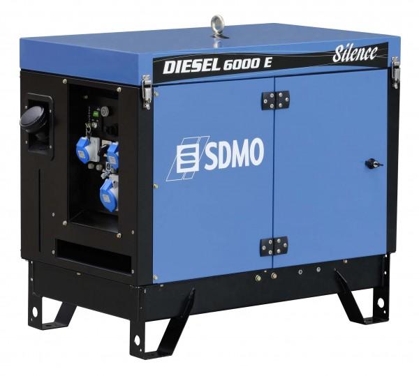 SDMO Stromerzeuger Diesel 6000 E Silence