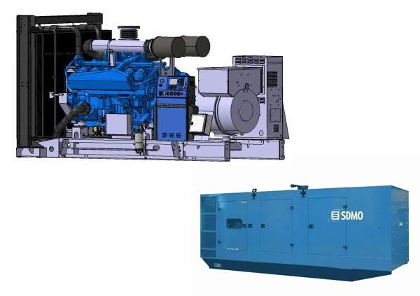 Stromerzeuger SDMO T900