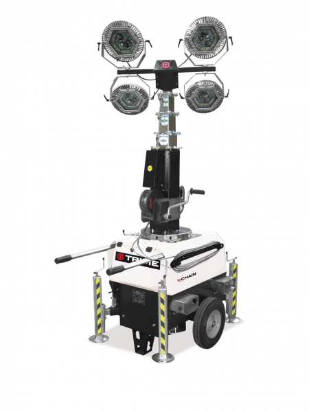 X-Chain ATEX 4 x 150 W LED Beleuchtungsfläche 2.400 m²