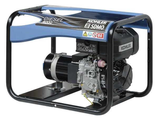 SDMO Stromerzeuger Diesel 4000 C