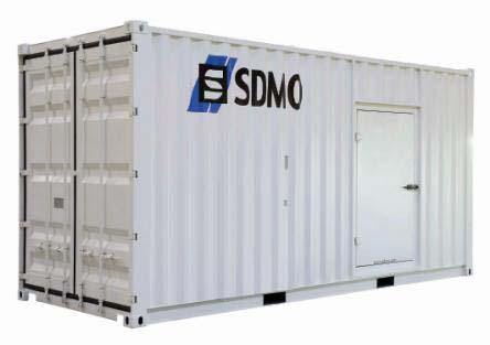 SDMO Rental Power Contenergy