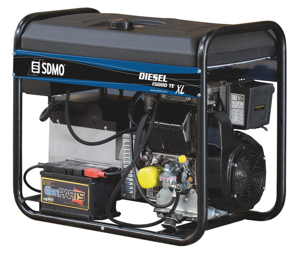 SDMO Portable Power Diesel 15000TE XL C