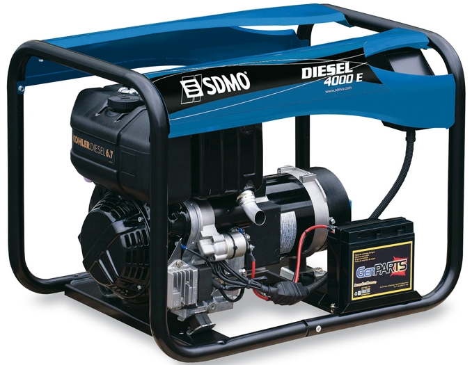 SDMO Portable Power Diesel 4000