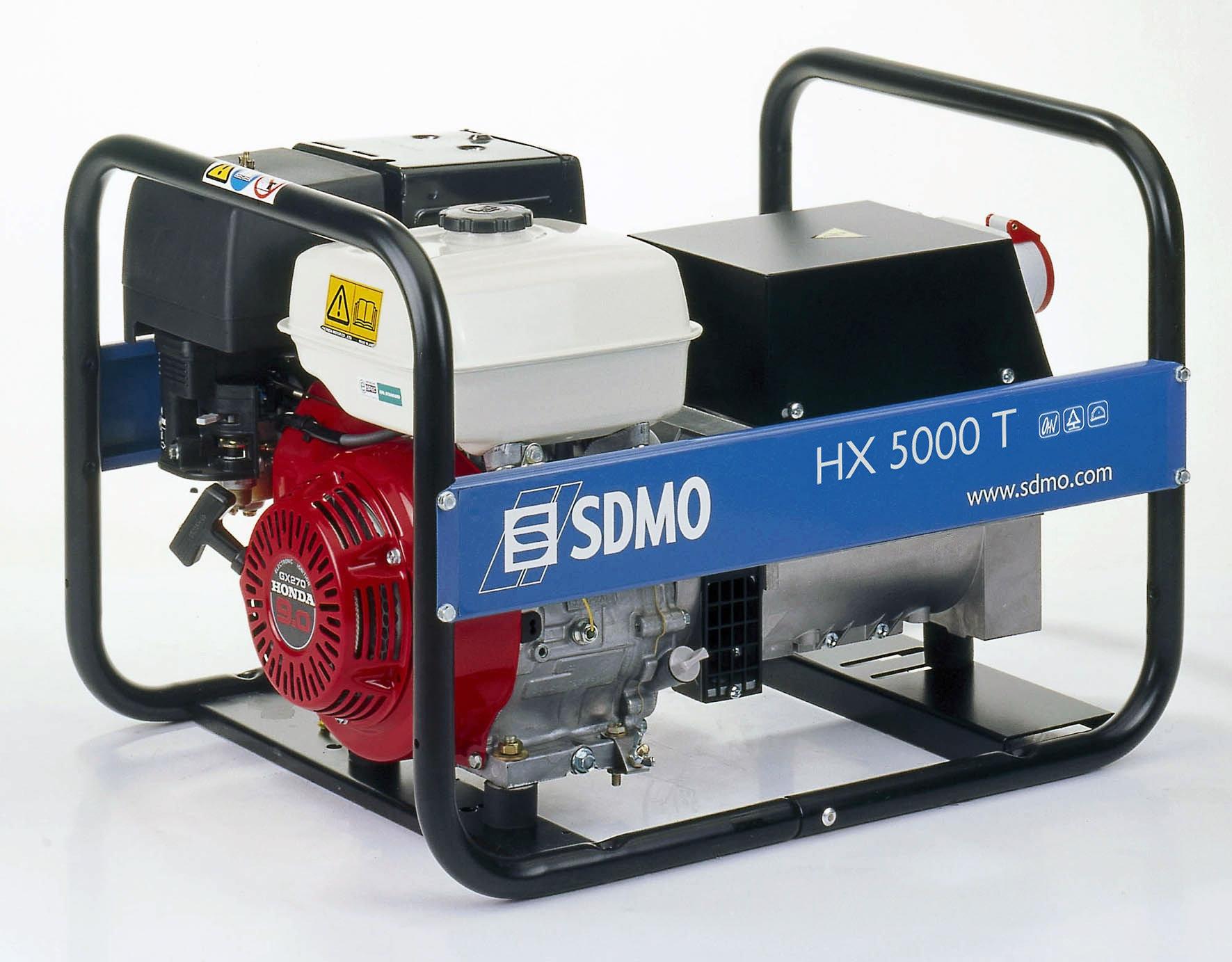 SDMO Portable Power HX5000T