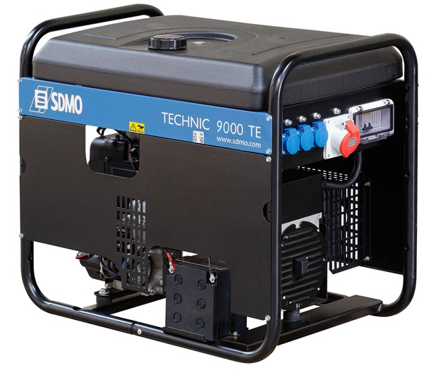 SDMO Portable Power Technic 7500TE AVR C
